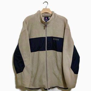 VTG Chaps Ralph Lauren Fleece Zip Sweater Large